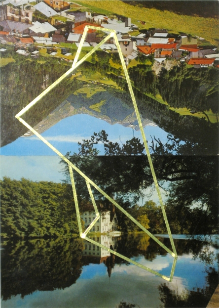 Œuvre unique, 21 x14,5 cm
