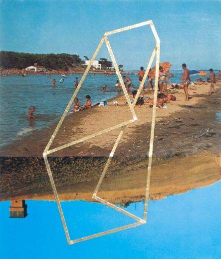 Œuvre unique, 14,8 x17,5 cm