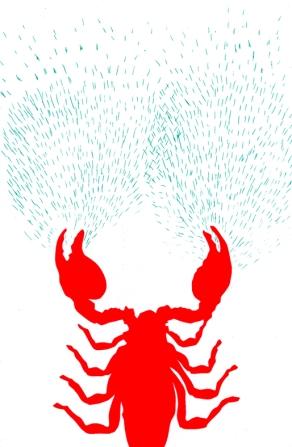 scorpion-serigraphie-W