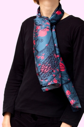 couleur Gris, 29x140 cm, , twill de soie