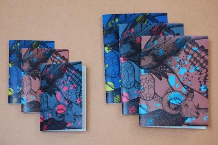 Carnets et cahiers tachetés
