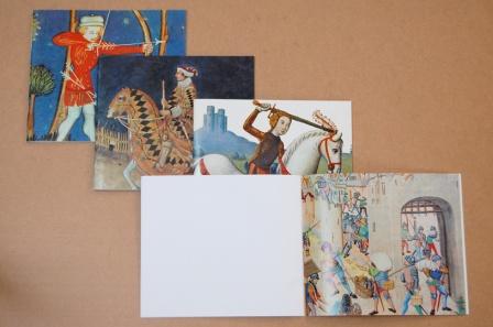 """Grands carnets de dessin """"Histoire"""" (dernière page)"""