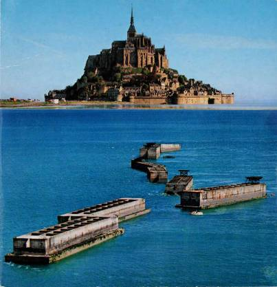 Mont St Michel / Arromanches Port Winston