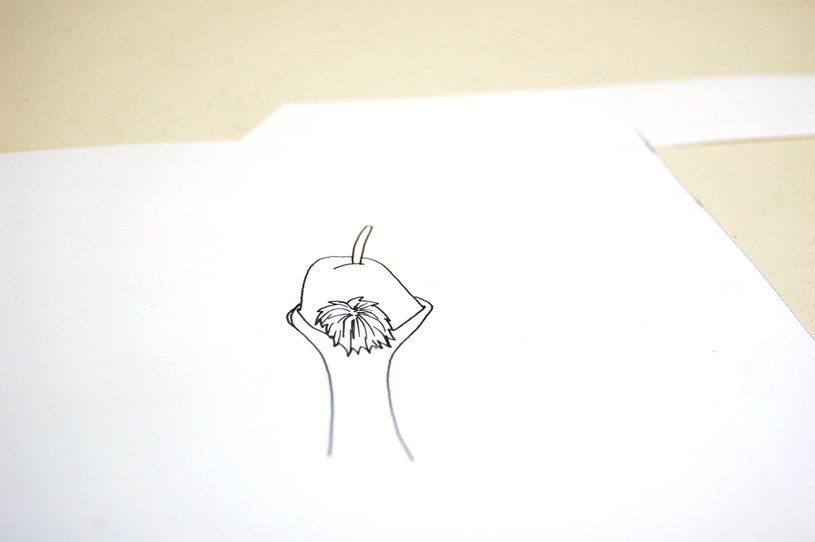 Gocco print : La bonne poire 3