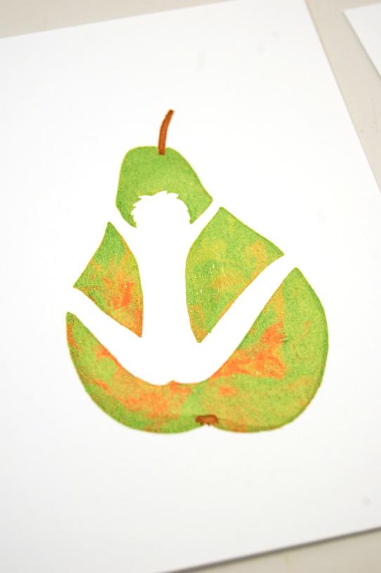 Gocco print : La bonne poire 8