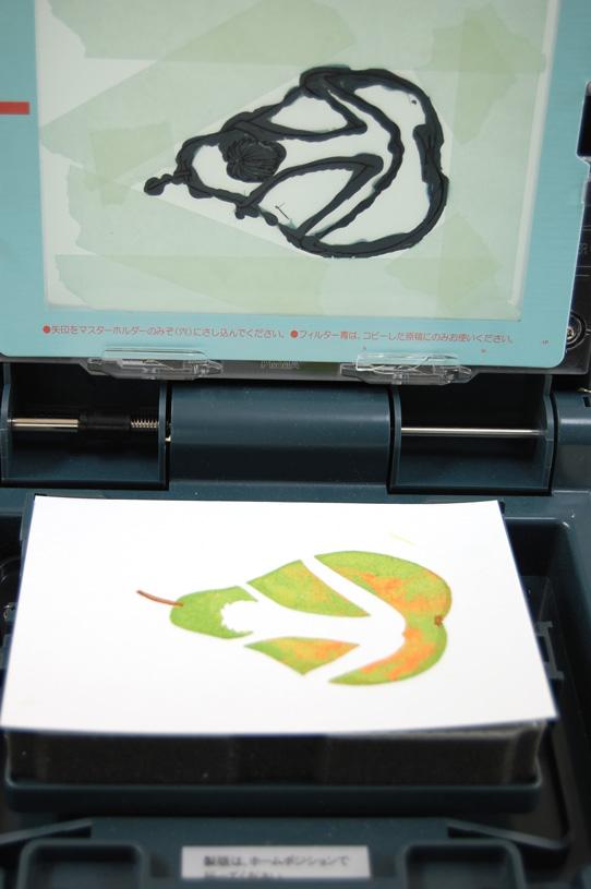 Gocco print : La bonne poire 9