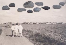 photographie argentique, cailloux, 7 x 10 cm