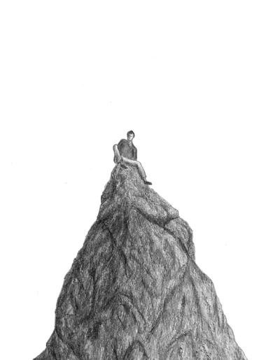 Graphite sur papier, 30 x 42 cm, 2014