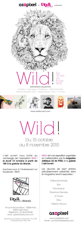 Expo WILD octobre 2015