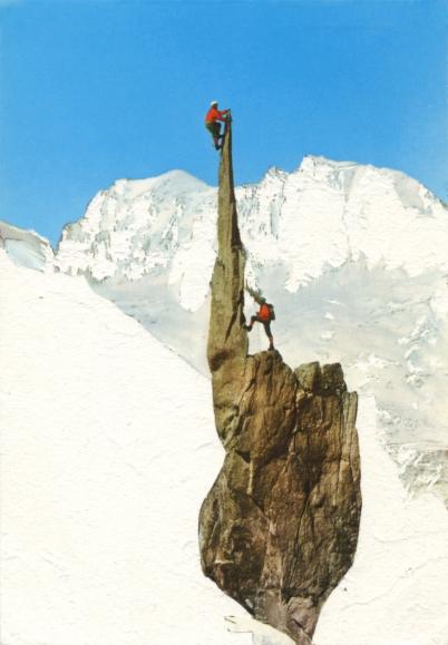 Escalade de l'Épée du Tacul, Mont Blanc