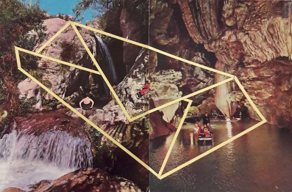 Cartes postales, œuvre unique, 20,5×14,8 cm